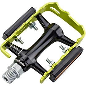 NC-17 Trekking Pro Pedals aluminium black/green